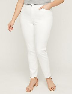 ef80dce368e97 Plus Size Petite Pants. The White Jegging