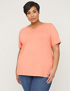 Suprema Top With Embroidered Trim