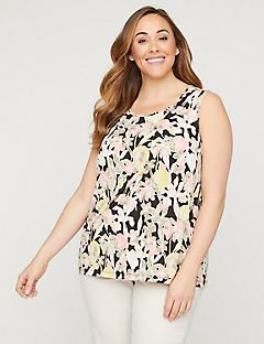 Floral Timeless Tunic Tank