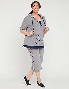 89da7e2f2d9 Shop Tops at Catherines Plus Sizes. Soft Star Hoodie