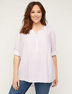 Lavender Pintuck Top