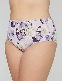 Printed Microfiber Full Brief