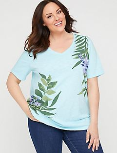 Palm Branch Top