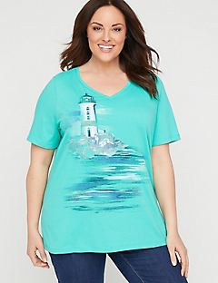 Sparkling Lighthouse Tee