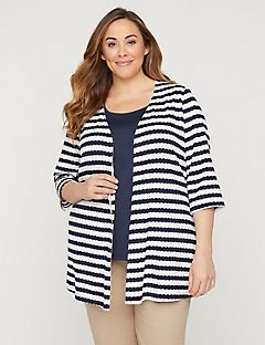 Everlasting Striped Cardigan