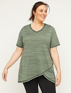 Wonder Tunic Top with Cutout