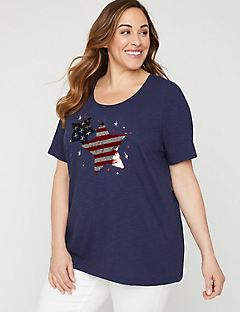 68bf330f026 Plus Size T-Shirts   Easy Fit Tees