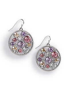 Soft Spangle Drop Earrings
