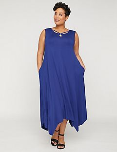 AnyWear Imperial Maxi Dress with Pockets
