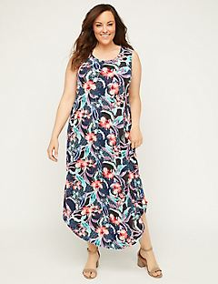 Tropic Bloom Maxi Dress