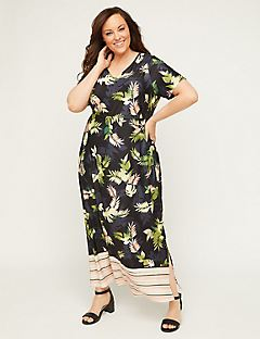 Eventide Palm Maxi Dress