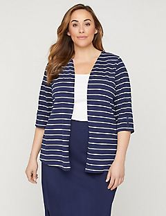 Striped Suprema Cardigan