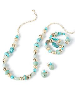 Baltic Sea Beaded Necklace