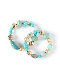 Baltic Sea Stretch Bracelet Set