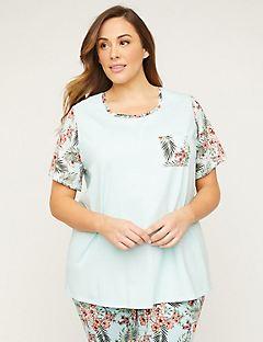 19b5d4ebf8cf Women s Plus Size Sleepwear   Loungewear