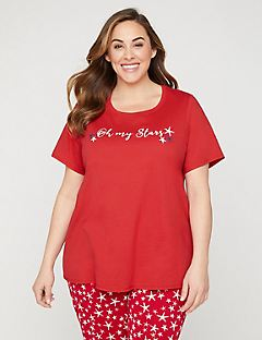 Oh My Stars Graphic Sleep Tee