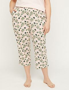Cacti Cotton Sleep Capri