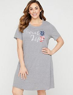Sweet Life Graphic Sleepshirt