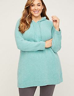 Markland Sparkle Hooded Sweater