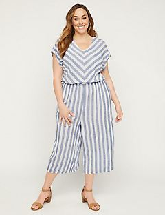 Striped Savannah Jumpsuit