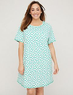 Four-Leaf Clover Graphic Sleepshirt