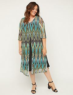 Soundview Mesh Flyaway Dress