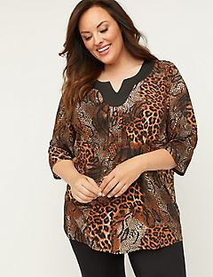 Blended Safari Top