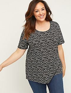 9668bd75 Plus Size T-Shirts & Tees | Catherines