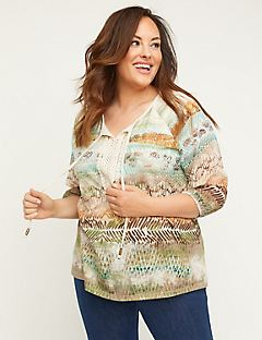 Echo Canyon Peasant Top