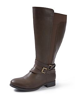 Good Soles Vegan Leather Riding Boot