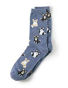 For the Love of Dogs Crew Socks