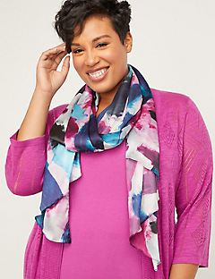 Brushstroke Breeze Scarf