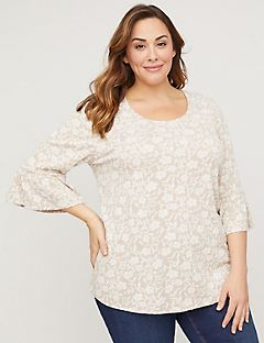 Floral Cottage Top