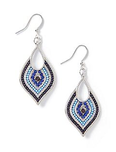 Teardrop Springs Drop Earrings