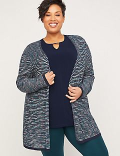 Lakeside Stripe Overpiece