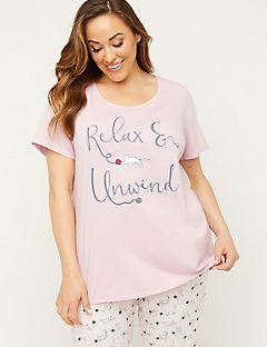 Catnap Cotton Sleep Tee