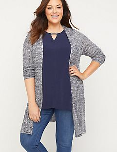Valley View Ribbed Duster