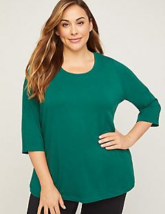 Suprema 3/4-Sleeve Top