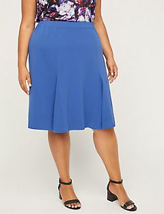 Black Label A-Line Skirt