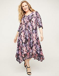 New Haven Bloom A-Line Dress