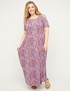 Lavender Gallery Maxi Dress