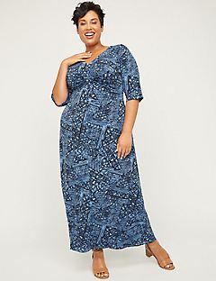 Soundview Twist-Knot Maxi Dress