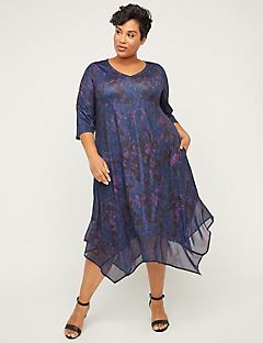 Hampton Horizon A-Line Dress with Pockets