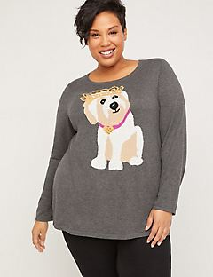 Lola the Puppy Princess Sweater