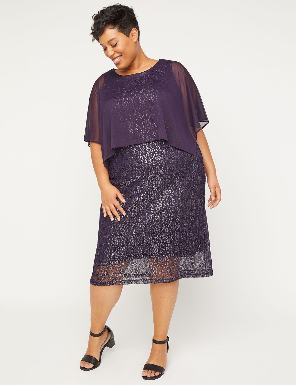 Amethyst Shimmer Dress