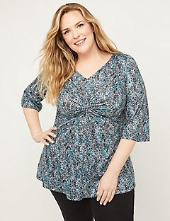 Dashing Dreams Twist-Knot Tunic Top