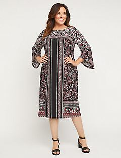 Paisley Drift Dress