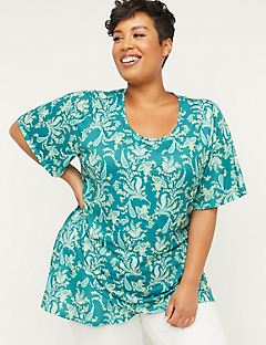 e3a6be73c8d Plus Size Tops | Catherines