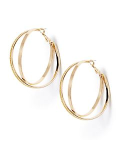 Morning Light Hoop Earrings
