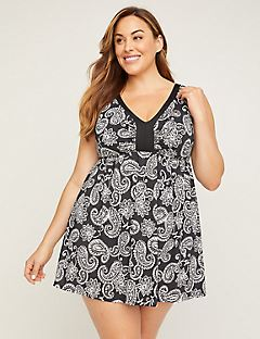 Paisley Breeze Swimdress